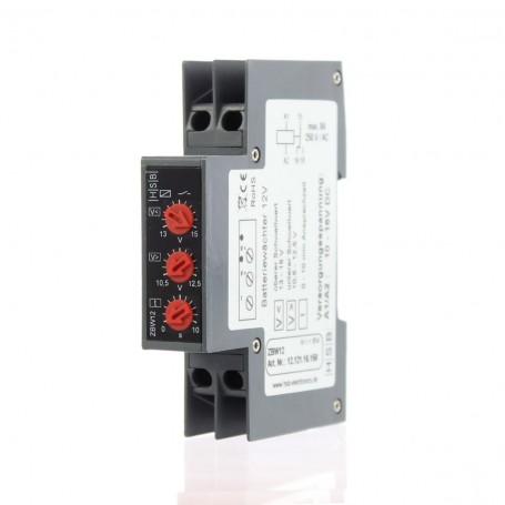 Monitor de tensión. Controlador de batería 12v