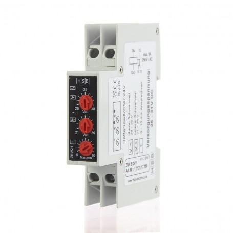 Monitor de tensión. Controlador de batería 24v
