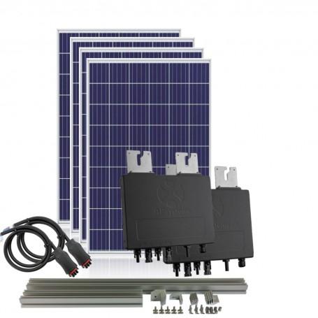 Kit autoconsumo 1200W 6kW/dia con inyección cero APSystems