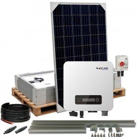 Kit autoconsumo 2,7kW 12kW/dia SolarPack SOFAR